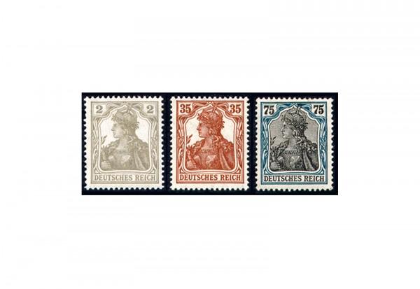 Briefmarken Deutsches Kaiserreich Germania VII 1917 Michel-Nr. 102/104 Falz
