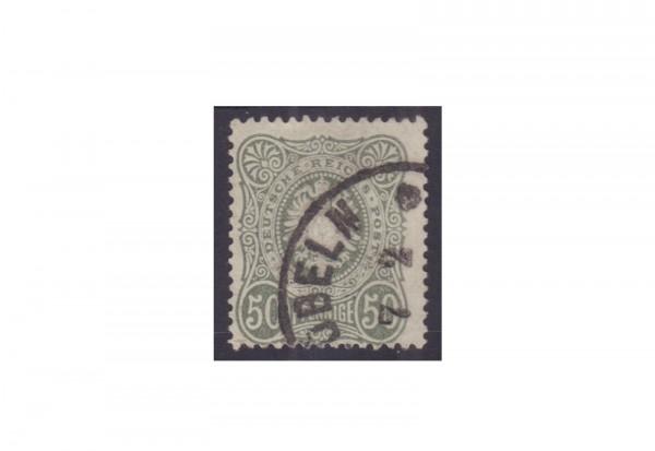 Briefmarke Deutsches Kaiserreich 1877 Michel-Nr. 38 gestempelt