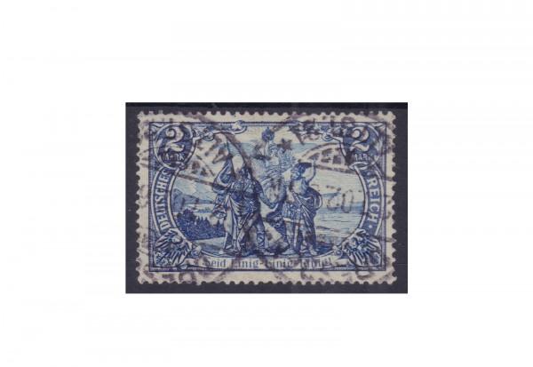Briefmarke Deutsches Reich Michel-Nr. 82 gestempelt