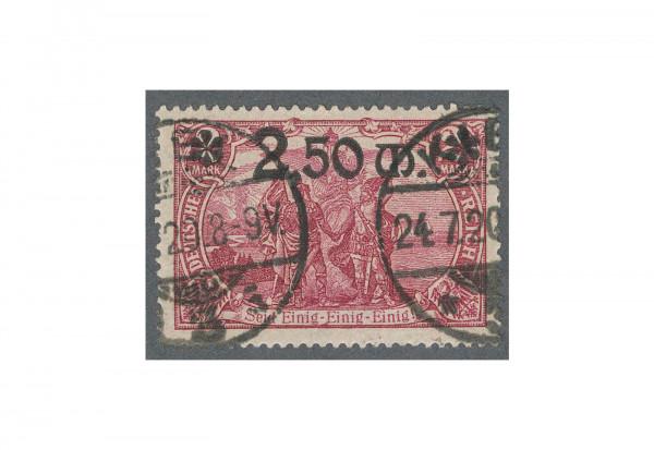 Briefmarke Deutsches Reich 1920 Michel-Nr. 118 b gestempelt geprüft BPP