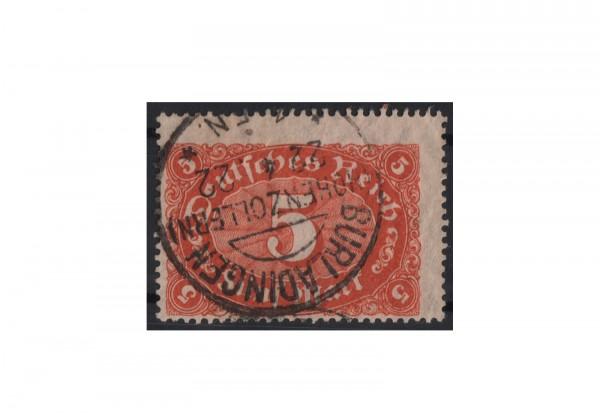 Briefmarke Deutsches Reich Michel-Nr. 174 b gestempelt geprüft