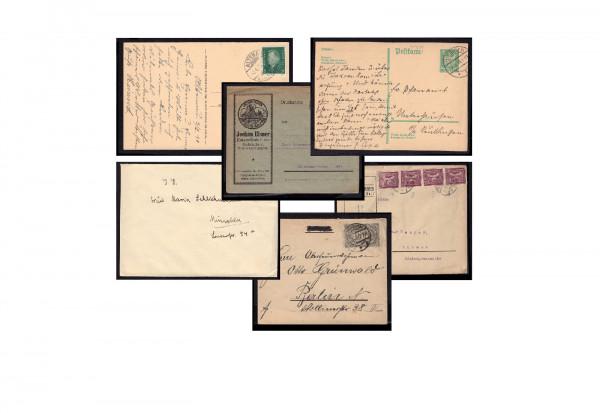 Bedarfpost 1872-1918