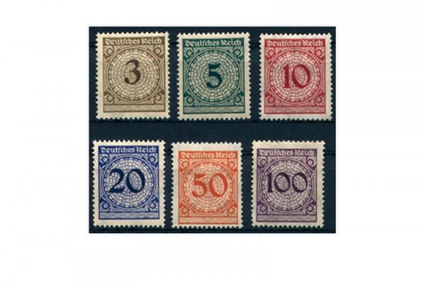 Briefmarken Deutsches Reich 1923 Michel-Nr. 338/43 postfrisch