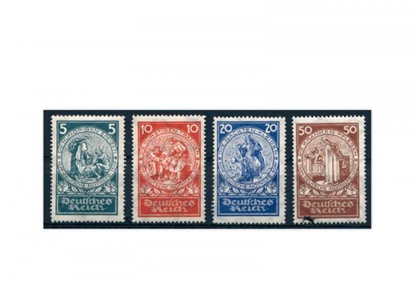 Briefmarken Deutsches Reich 1924 Michel-Nr. 351/354 postfrisch