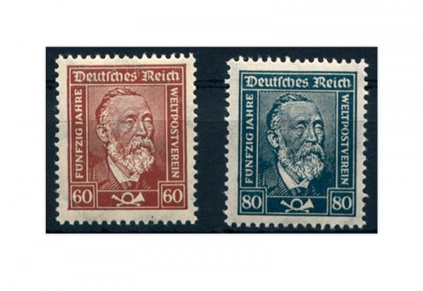 Briefmarken Deutsches Reich 1924 Michel-Nr. 362/63 postfrisch