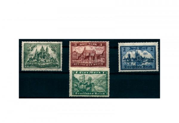 Briefmarken Deutsches Reich 1924 Michel-Nr. 364/367 postfrisch
