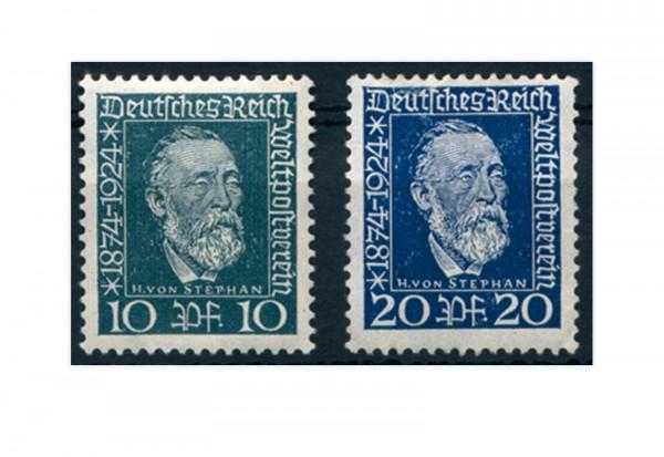 Briefmarken Deutsches Reich 1924 Michel-Nr. 368/369 postfrisch