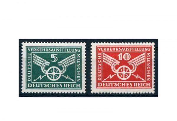 Briefmarken Deutsches Reich 1925 Michel-Nr. 370/371 postfrisch