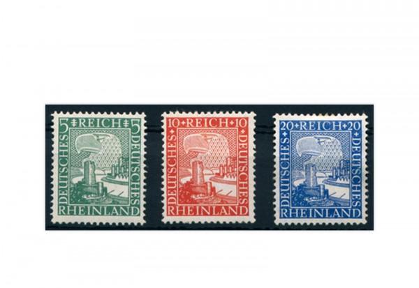 Briefmarken Deutsches Reich Einzelausgabe 1925 Michel-Nr. 372/374 postfrisch