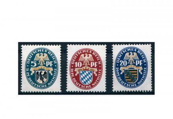 Briefmarken Deutsches Reich Einzelausgabe 1925 Michel-Nr. 375/377 postfrisch