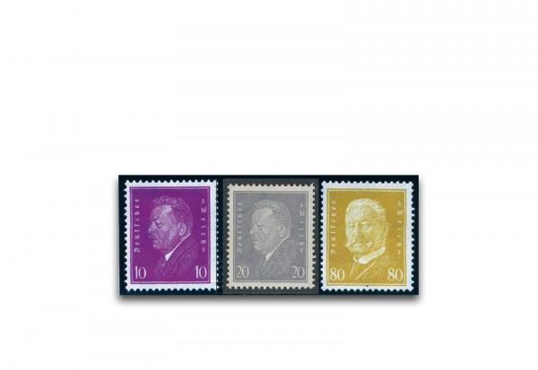 Briefmarken Deutsches Reich 1930 Michel-Nr. 435/437 postfrisch