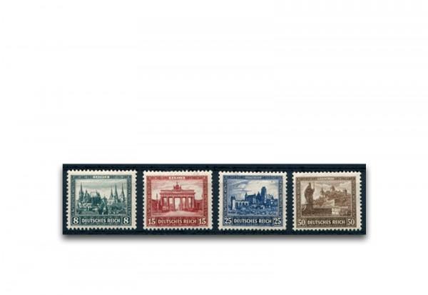 Briefmarken Deutsches Reich 1930 Michel-Nr. 450/453 postfrisch