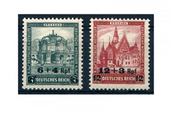 Briefmarken Deutsches Reich 1932 Michel-Nr. 463/464 postfrisch