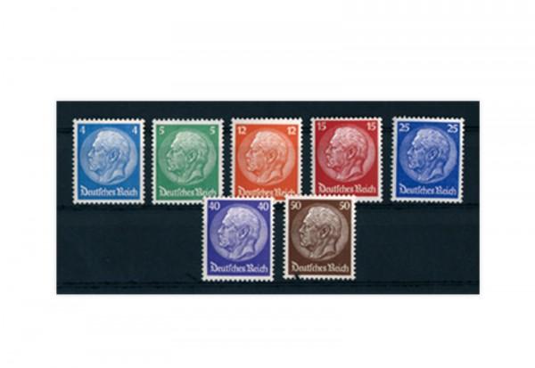 Briefmarken Deutsches Reich 1932 Michel-Nr. 467/73 postfrisch