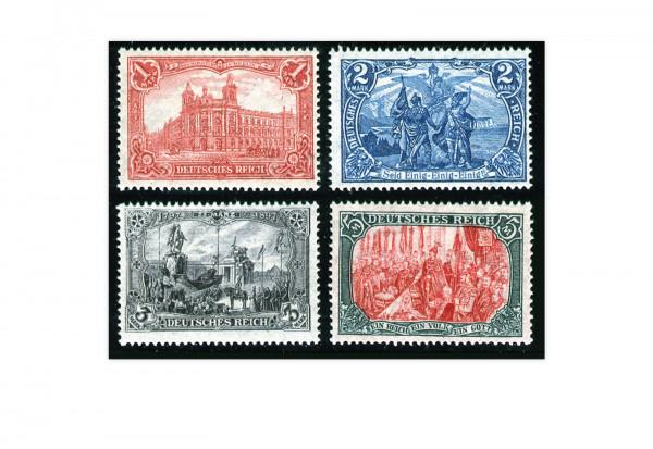 Briefmarken Deutsches Reich Kaiserreich 1905 Michel-Nr. 94/97 B II postfrisch