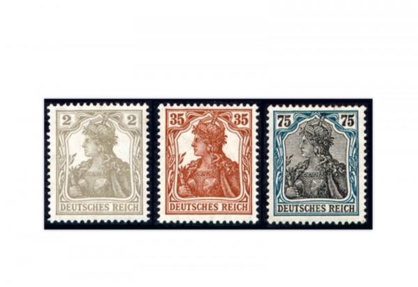 Briefmarken Deutsches Reich Germania 1917/1918 Michel-Nr. 102/104 postfrisch
