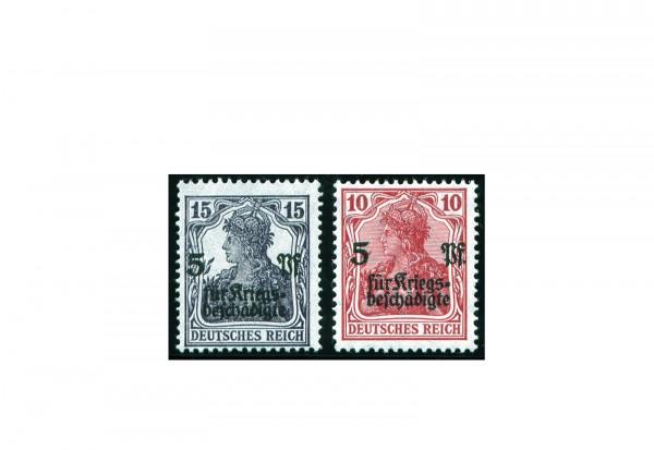 Briefmarken Deutsches Reich 1872-1945 Michel-Nr. 105/106 postfrisch
