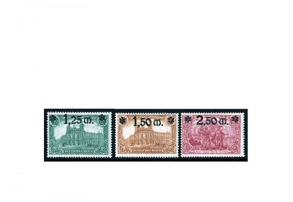 Briefmarken Deutsches Reich 1920 Michel-Nr. 116/118 postfrisch