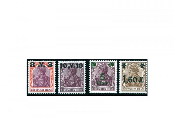 Briefmarken Deutsches Reich Freimarken Germania IX 1921 Michel-Nr. 154/7 I postfrisch