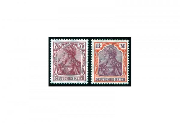 Briefmarken Deutsches Reich Inflation 1922 Michel-Nr. 197/198 postfrisch