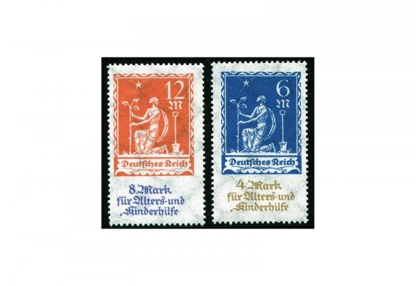 Briefmarken Deutsches Reich Alters- und Kinderhilfe 1922 Michel-Nr. 233/4 postfrisch
