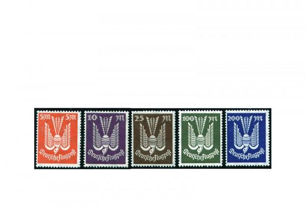 Briefmarken Deutsches Reich Flugpostmarken Holztaube 1923 Michel-Nr. 263/7 postfrisch