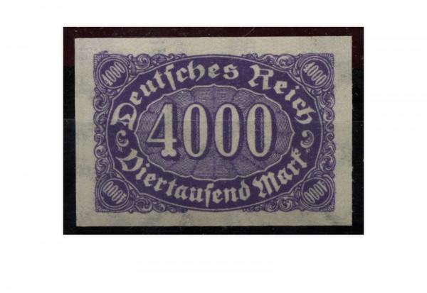 Briefmarke Deutsches Reich Ziffern im Oval 1923 Michel-Nr. 255 U postfrisch