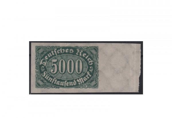 Briefmarke Deutsches Reich 1923 Michel-Nr. 256 U postfrisch Ziffern im Oval