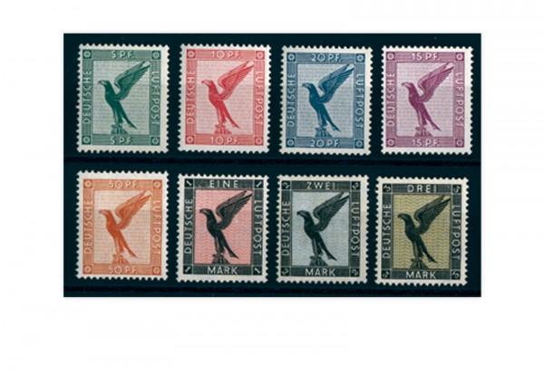 Briefmarken Deutsches Reich Flugpostausgabe Steinadler Michel-Nr. 378/84 postfrisch