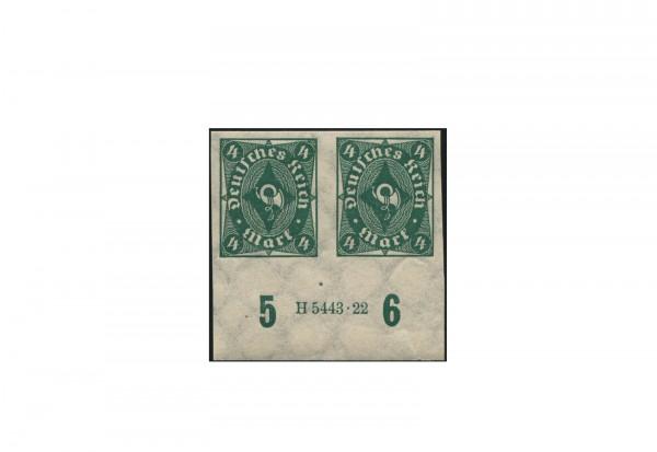 Briefmarken Deutsches Reich Posthorn 1922 Michel-Nr. 226 U HAN postfrisch