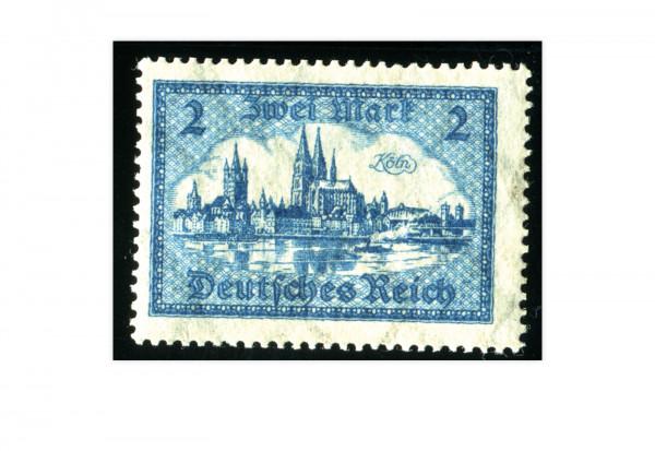 Briefmarke Deutsches Reich Bauwerke 1924 Michel-Nr. 365 postfrisch
