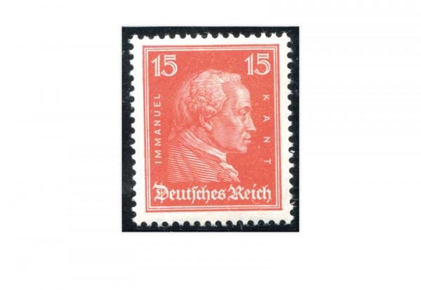 Briefmarke Deutsches Reich Berühmte Deutsche 1926 Michel-Nr. 391 postfrisch