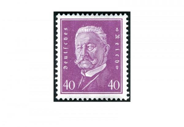 Briefmarke Deutsches Reich Reichspräsidenten 1928 Michel-Nr. 418 postfrisch