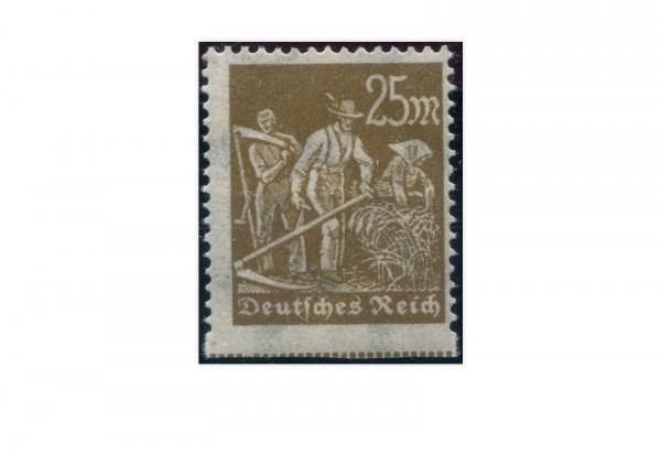 Briefmarke Deutsches Reich Der abartige Schnitter 1922 Michel-Nr. 242 Uu postfrisch