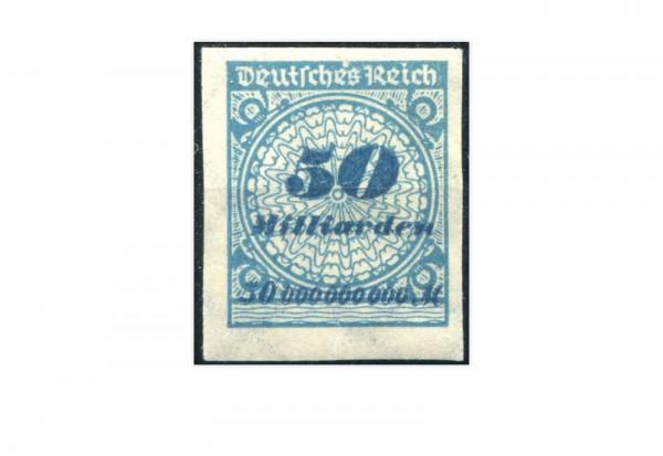 Briefmarke Deutsches Reich 1923 Michel-Nr. 330 U postfrisch