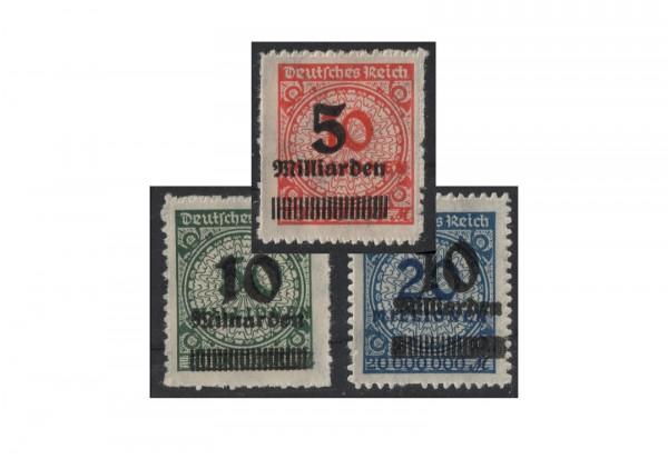 Briefmarken Deutsches Reich Freimarken Michel-Nr. 334/6 B HT postfrisch