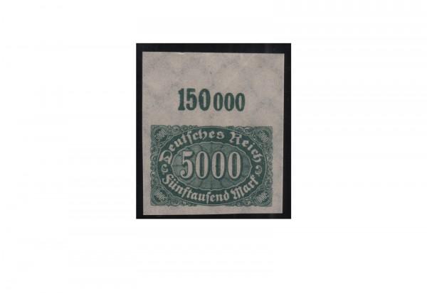 Briefmarke Deutsches Reich Ziffern im Oval 1923 Michel-Nr. 256 U OR postfrisch