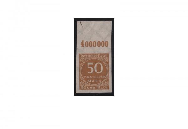 Briefmarken Deutsches Reich Ziffern im Kreis 1923 Michel-Nr. 275 U OR postfrisch
