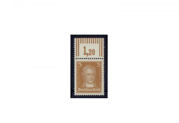 Briefmarke Deutsches Reich Johannes Wolfgang Goethe 1926 Michel-Nr. 386 W OR postfrisch