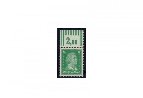 Briefmarke Deutsches Reich Friedrich von Schiller 1926 Michel-Nr. 387 W OR postfrisch