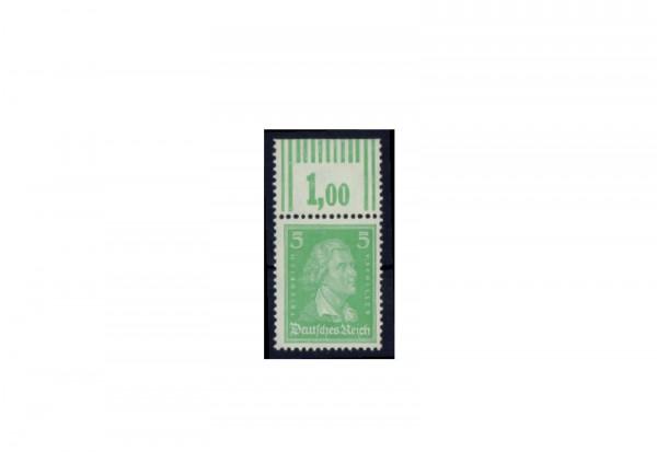 Briefmarke Deutsches Reich Friedrich von Schiller 1926 Michel-Nr. 388 W OR postfrisch