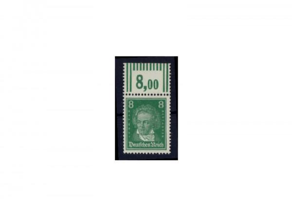 Briefmarke Deutsches Reich Ludwig van Beethoven 1926 Michel-Nr. W OR postfrisch