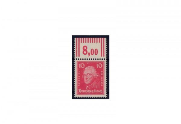 Briefmarke Deutsches Reich Friedrich der Grosse 1926 Michel-Nr. 390 W OR postfrisch