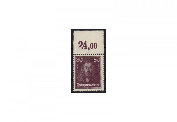 Briefmarke Deutsches Reich Albrecht Dürer 1926 Michel-Nr. 397 P OR postfrisch