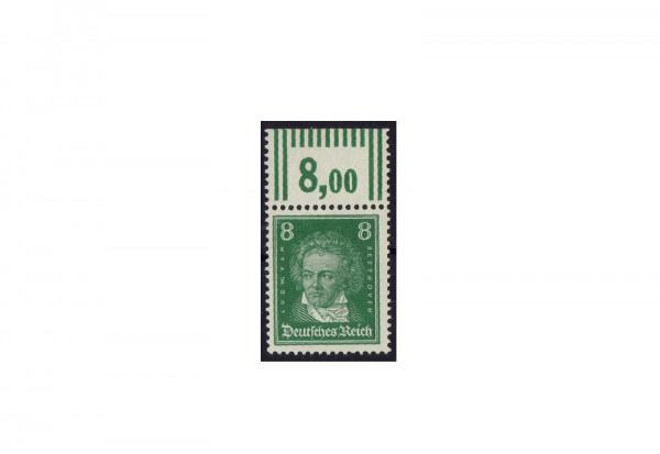 Briefmarke Deutsches Reich Ludwig van Beethoven 1926 Michel-Nr. 389 P OR postfrisch