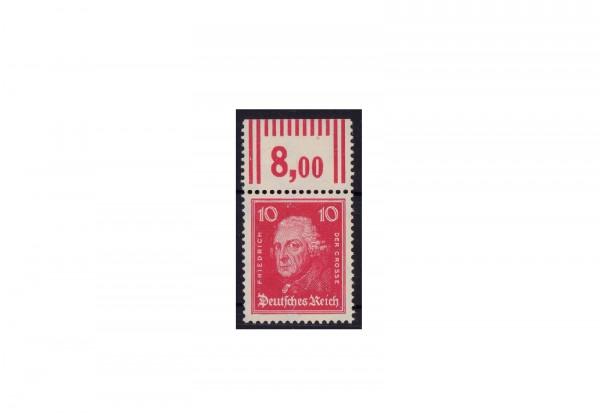 Briefmarke Deutsches Reich Friedrich der Grosse 1926 Michel-Nr. 390 P OR postfrisch