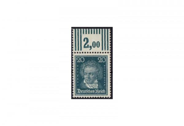 Briefmarke Deutsches Reich Ludwig van Beethoven 1926 Michel-Nr. 392 P OR postfrisch