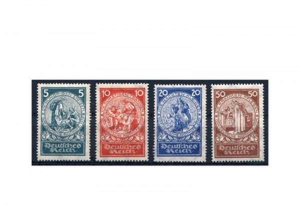 Briefmarken Deutsches Reich Deutsche Nothilfe Michel-Nr. 351-354 Falz