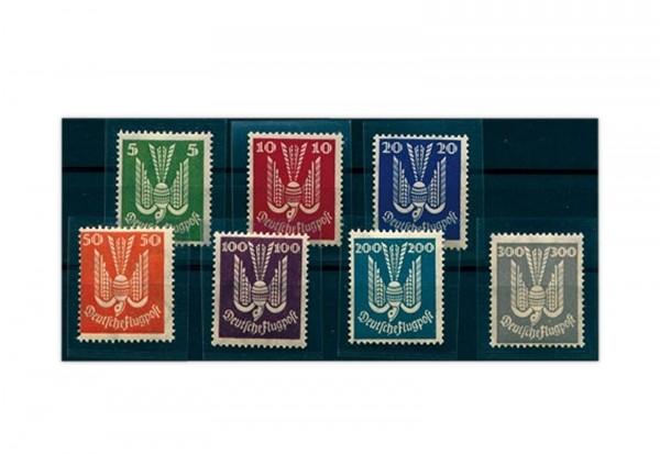 Briefmarken Deutsches Reich 1924 Michel-Nr. 344/50 Falz