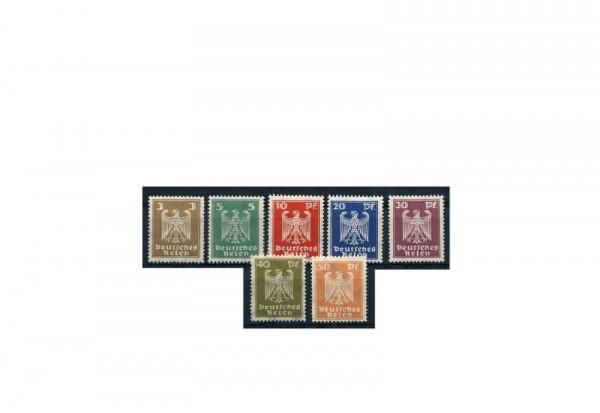 Briefmarken Deutsches Reich 1924 Michel-Nr. 355/61 Falz